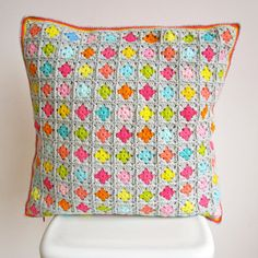 Colorful Cushion Cover by ColornCream