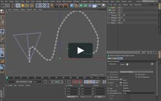 in this video I will show you the problem when using aline to spline tag in c4d with spline that have uneven points distribution . if you have any question feel…
