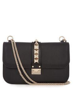 Lock medium leather shoulder bag | Valentino | MATCHESFASHION.COM