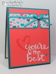Stampin' Up! Watercolor Words You're the Best