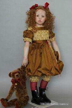 Прекрасные куклы от Hildegard Gunzel / Другие коллекционные куклы / Бэйбики. Куклы фото. Одежда для кукол