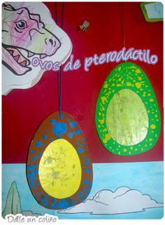 Huevos de pterodáctilo
