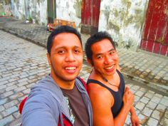 Thanks to this fellow. My trip in Vigan won't be possible without him. Thanks Jhong!