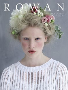 Love Rowan. Don't really care for the sweater on the cover, but the hair & makeup is very Marie Antoinette inspired.