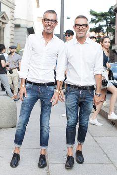 Milan Fashion Week S/S Dean and Dan Caten for Dscuare 2!