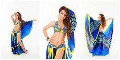 Natalia Kalinina costume #blue #yellow