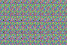 Why Can't Some People See Magic Eye Pictures? Is there something wrong with these people's eyes? Most Magic Eye problems have to do with the way the eyes work with each other and how the brain interprets what it is seeing.