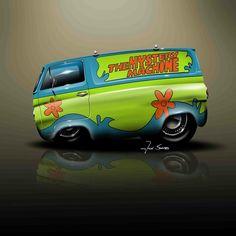 Pin By Kevin Robertson On Things Priscilla Needs Weird Cars Car Cartoon Car Drawing, Car Drawings, Weird Cars, Cool Cars, Car Photos, Car Pictures, Car Art, Mystery Machine Van, Truck Art