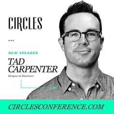 We are excited to announce our new speaker @tadcarpenter who will be joining us at @circlesconf this year.  If you haven't done so, register today at: http://circlesconference.com  #Circles2015