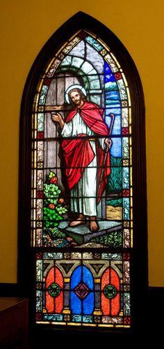 Interior stained glass from Ayden United Methodist Church, Ayden, North Carolina.  226365_445692402141949_910541090_n.jpg (453×960)