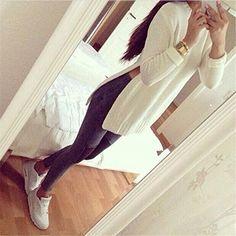 Pull Femme Mode féminine à manches longues Pull en maille Cardigan: Amazon.fr: Vêtements et accessoires