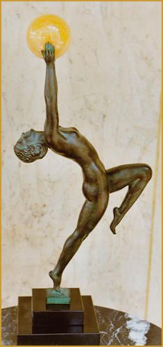 Max Le Verrier, Art Deco, Bronze, Skulptur, Jeu, Art1900, Antiquitäten, Berlin, Kurfürstendamm 53
