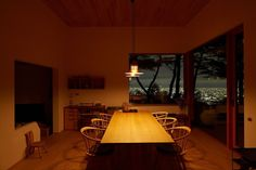 toshihiko nishida blog: 竹田アートカルチャー2015 中村好文講演会10.3 Interior Photo, Interior Design, Sweet Home, Dining Room, Table Lamp, Architecture, Lighting, Furniture, House Ideas