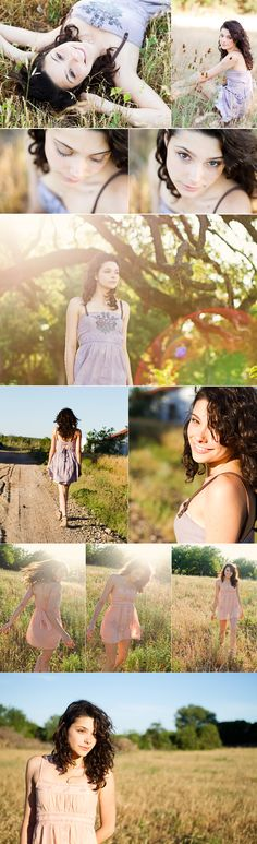 lovely poses for a senior