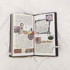 """#diary #journal #mt #midori #midoritravelersnotebook #stickers #washitape #maskingtape #stationary #手帳 #文房具 #日記 #卓大王 #紙膠帶 #てはさんの日付シート"""