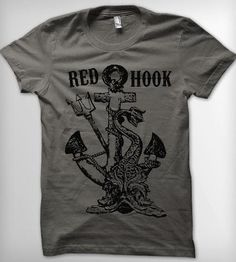 Red Hook Anchor Men's T-Shirt | Men's T-Shirts | Roxy's Tee Parlour | Scoutmob Shoppe | Product Detail