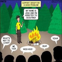 Scout Support Group - KNOTS Scout Cartoon for March 2015