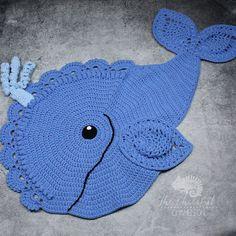 Handmade  Whale Rug