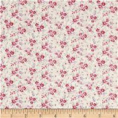 Kaufman Sevenberry Petite Garden Tiny Buds Pink