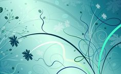 Turquoise Abstract HD Wallpaper