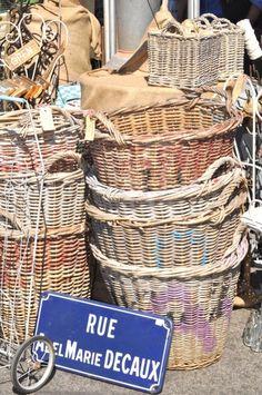 Vintage French Baskets