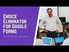 How to use Choice Eliminator add-on for Google Forms - YouTube