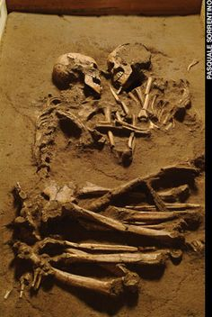 Lovers of Valdero - Excavations near Mantua, Italy, revealed the remains of a young man and woman buried in an embrace more than 5,000 years ago.