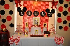 """Photo 24 of 42: Mickey Mouse Clubhouse or Minnie Mouse / Birthday """"Oh Twodles Lilly is 2"""" 