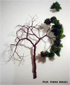 Eloquent treated model train layouts By Appointment Only Miniature Trees, Miniature Crafts, Miniature Fairy Gardens, Fake Trees, Model Tree, Fairy Tree, Mini Plants, Glitter Houses, Tree Sculpture