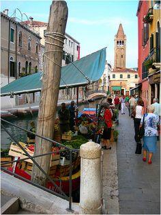 Fruttivendolo, Venezia