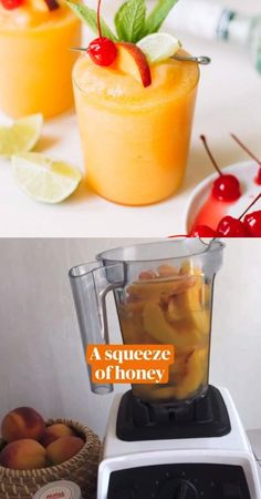 This Peach Daiquiri is frothy, fresh and frozen thanks to year-round frozen peaches, a generous amount of fresh lime juice, sweet white rum and Cointreau that really turns it into a party. It's an exceptionally easy frozen cocktail recipe made at home that celebrates the bounty of the summer - or any time of year - season! #daiquiri #cocktail #summer Peach Daiquiri, Daiquiri Cocktail, Frozen Daiquiri, Easy Drink Recipes, Alcohol Drink Recipes, Cocktail Recipes, Peach Alcohol Drinks, Peach Drinks, Summertime Drinks