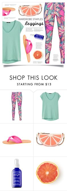 """Wardrobe Staples: Leggings"" by marina-volaric ❤ liked on Polyvore featuring adidas Originals, MANGO, MM6 Maison Margiela, Kate Spade, Captain Blankenship, Leggings and WardrobeStaples"