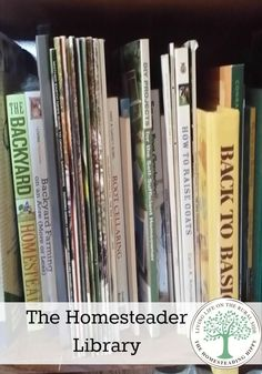 A good resource library can make all the difference with your homesteading success! The HomesteadingHippy