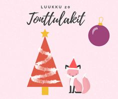 Taideluontokasvatus: joulukalenteri