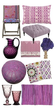 10 reasons to get passionate about purple decor...