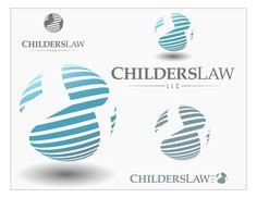 Law firm logo - elegant, sexy, tech by SweetShe