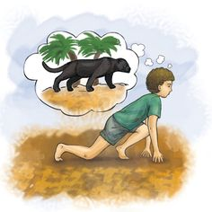 Kids can have jungle yoga adventures  with the characters from the Jungle Book movie.     For instance, they can pretend to be Bears  like...