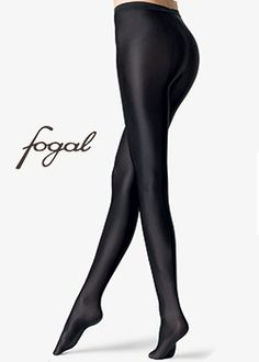 9ed925f37d5 Fogal Rapallo Deluxe Satin High Sheen Tights Black high quality leggings  http   www