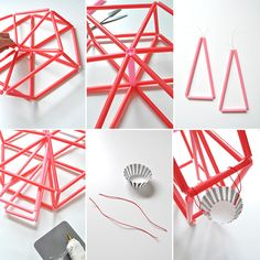 seesaw made from straws - Google Search