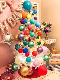 Birthday Tree, Ornament Wreath, Ornaments, Wreaths, Decor, Decoration, Door Wreaths, Christmas Decorations, Deco Mesh Wreaths