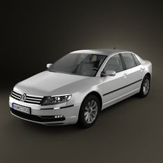 Volkswagen Phaeton 2011 3d model from humster3d.com. Price: $75