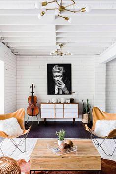 Portes ouvertes : maison colorée à Nashville – Buk & Nola