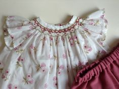Smocked Pauline blouse by Citronille and Bloomers   Liberty Jangchup