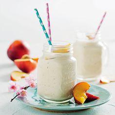 Nectarine milkshakes - MyKitchen