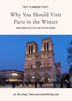 Winter in Paris: A Magical Time to Visit - Journey of Doing Paris France Travel, Paris Travel Guide, Best Of Journey, Paris In December, The Ritz Paris, Paris Things To Do, Paris Winter, Paris Itinerary, European Travel