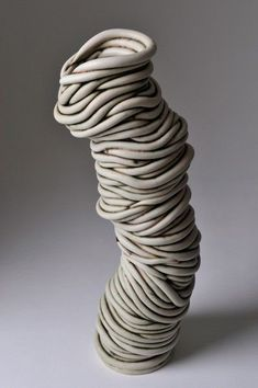 Ferri Farahmandi Ceramics - Gallery 3 Coiled sculptures See More. Ceramic Clay, Ceramic Pottery, Pottery Art, Coiled Pottery, Pottery Ideas, Ceramic Techniques, Pottery Techniques, Pottery Sculpture, Sculpture Clay