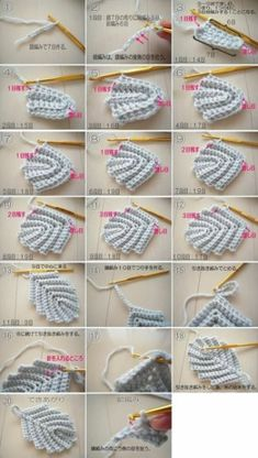 Crochet Leaf Patterns, Crochet Symbols, Crochet Motifs, Crochet Diagram, Freeform Crochet, Irish Crochet, Crochet Doilies, Crochet Stitches, Knitting Patterns