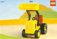View LEGO instructions for Front End Loader set number 1633 to help you build these LEGO sets