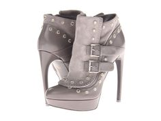 Alexander McQueen #grey #booties