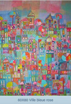 ville bleue by Sophie Jourdan